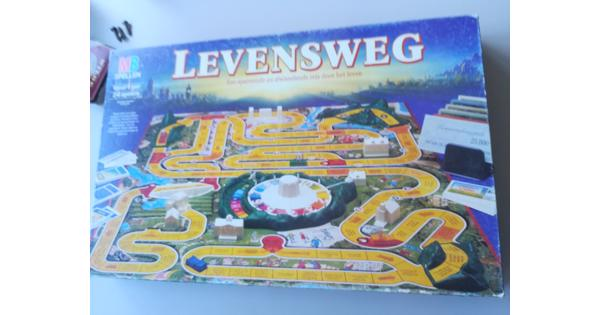 Bordspel Levensweg