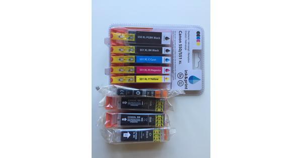 Inkt cartridges voor Canon Pixma 7200 serie