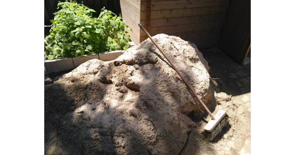 Geel zand - Gratis af te halen
