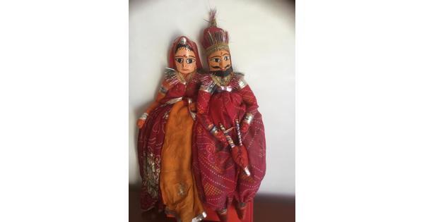 Indiase poppen en Egyptische muiltjes