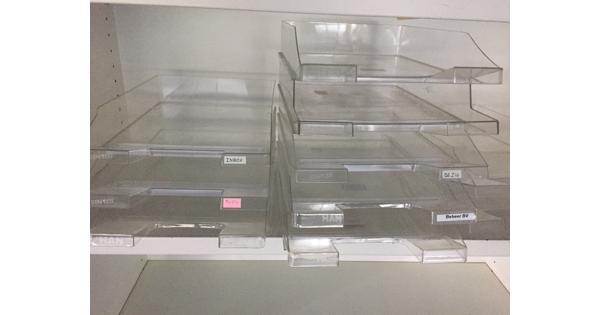 sorteer bakjes