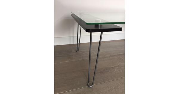 Glazen salontafeltje IKEA