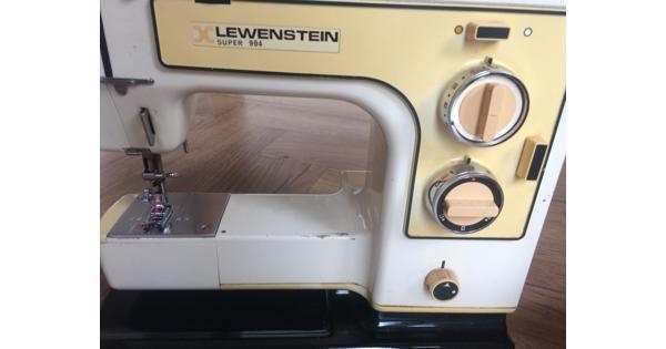 Lewenstein 904 naaimachine uit '75. Defect
