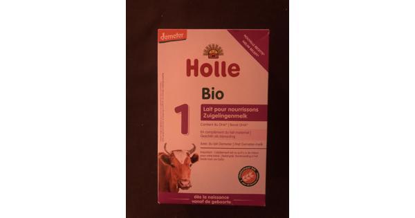 Holle zuigelingenmelk bio 1