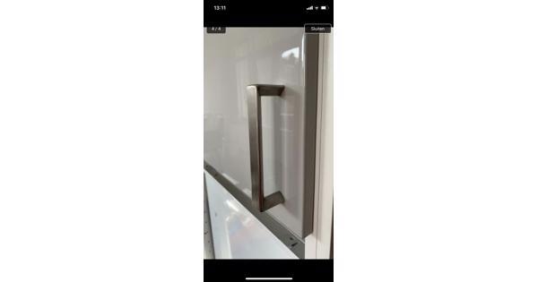 Keukenkast deurtjes Ikea Ringhult lichtgrijs