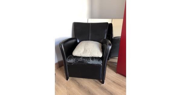 Zwarte stoel in Rotterdam