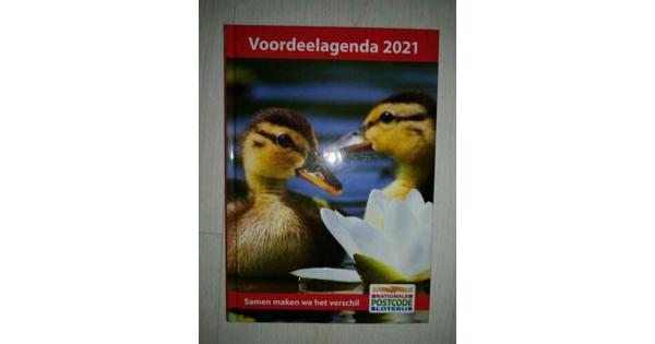 Voordeelagenda 2021 postcodeloterij