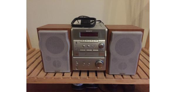 Sony stereoset Radio/CD speler