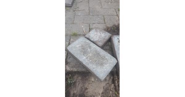 Grijze Cobblestones (42x21x7 cm)