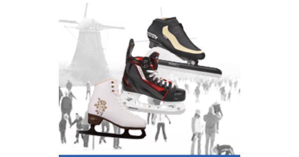 Op zoek naar (gebruikte, evt kapotte) schaatsen en skeelers.