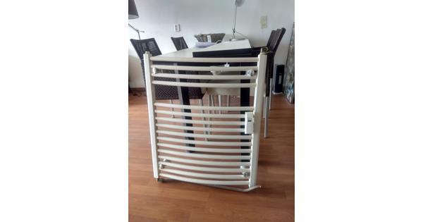 Witte badkamer radiator