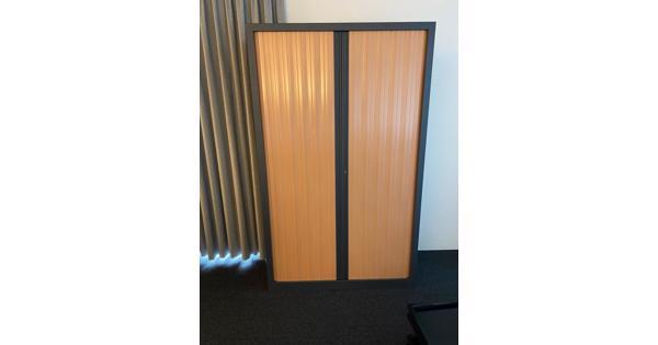 Kantoorkasten met roldeuren 199x120x43