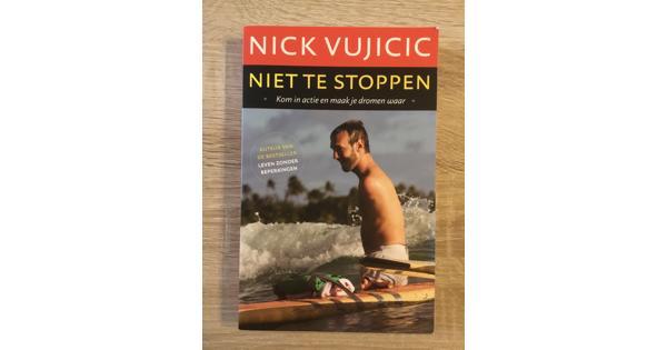 Boek 'Niet te stoppen' van Nick Vujicic