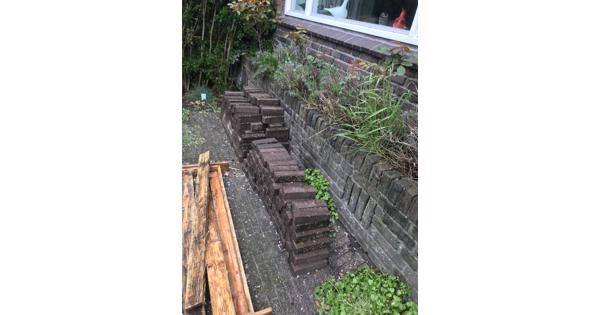 Steen voor in tuin of looppad