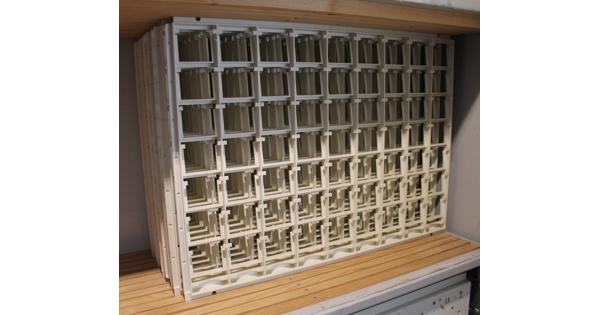 Kunststof frames voor diaraampjes