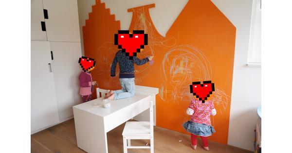 Muurdecoratie voor kinderkamer