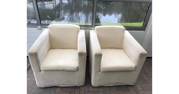 2 relax stoelen