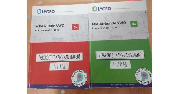 Oude Lyceo boeken 2016