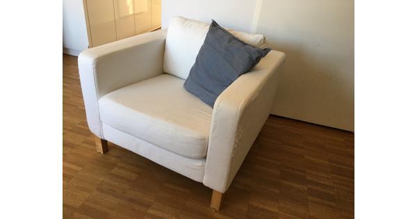 Ikea Karlstad fauteuil wit