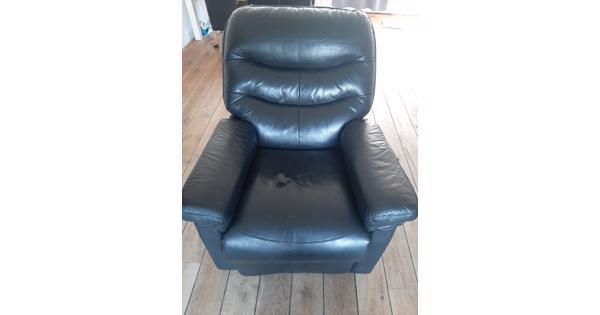 Leren stoel, gebruikt