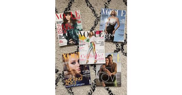 Tijdschriften VOGUE & ELLE 2011