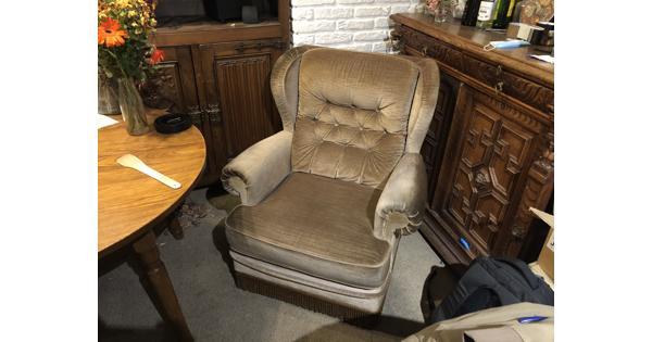 Luie stoel, jaren '50