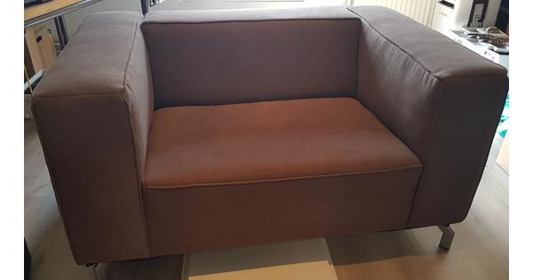 Mooie bruine love seat, Gratis!