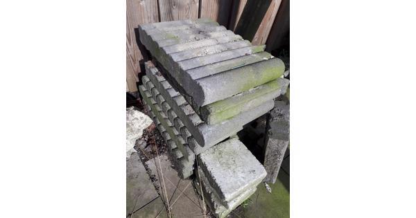 palissade tegels/blokken