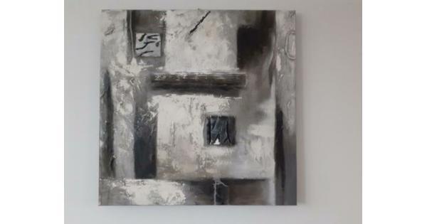 Canvas schilderij 80x80
