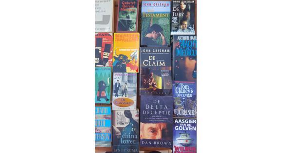 Boeken: detectives, spanning en avontuur