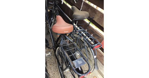 Klus fietsen, dames- en herenfiets