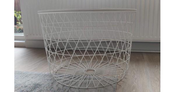 Witte salontafel