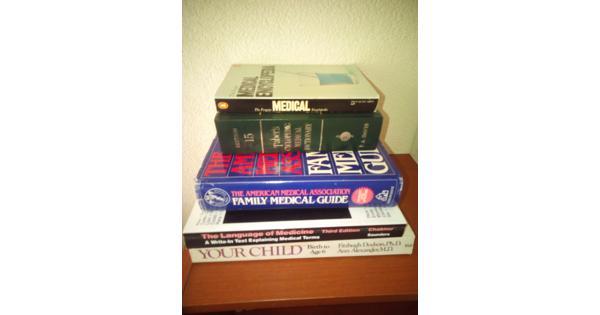 medische boeken, naslagwerken en woordenboeken
