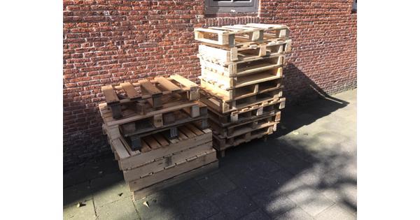 Gratis pallets af te halen in Haarlem