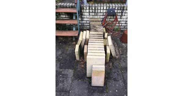Terrastegels 40x30x6, 15m2