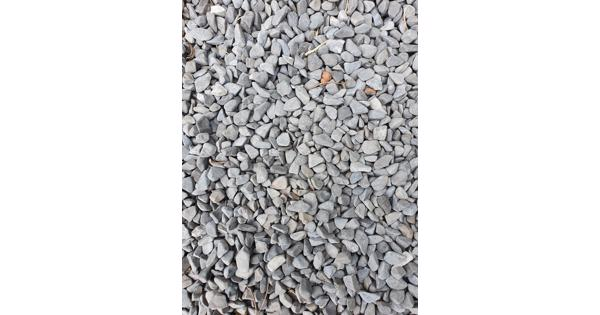 Mooi grijs grind