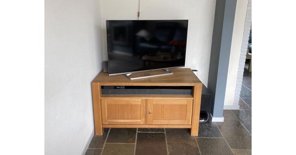 Blank eiken tv kast