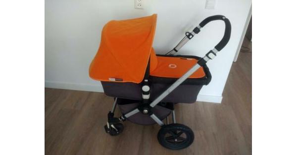 Combi-kinderwagen wieg en buggy