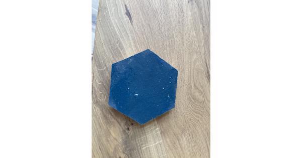 Blauwe Marokkaanse tegels