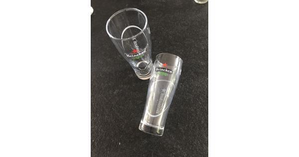 Gebruikte soorten glazen