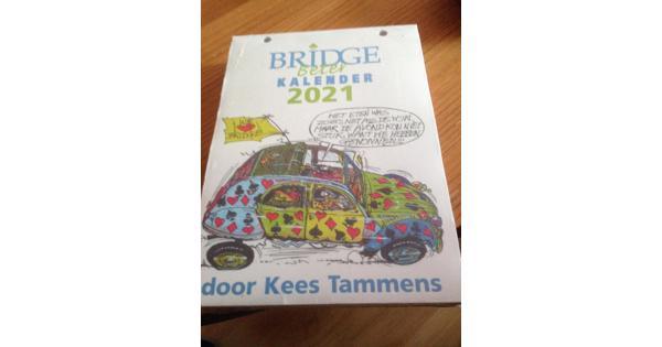 """""""BRIDGE beter""""  kalender"""