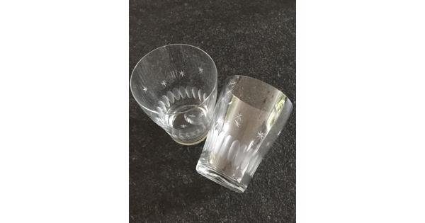 Antieke glazen, diverse soorten