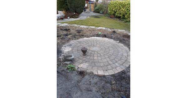 Stenen voor cirkel (2x 2,60m)