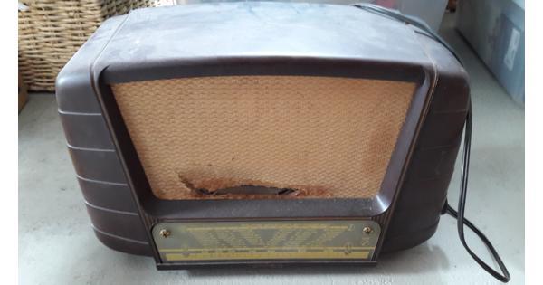 Oude radio af te halen