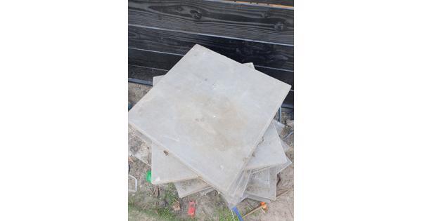 Beton tegels 50x50x4cm 28 stuks