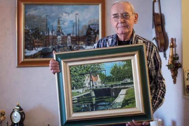 Verdwenen schilderijen van Joop Veenstra (79) uit Almelo ook op Gratisaftehalen.nl?